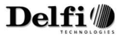 Foredrag - WePeople, Delfi Technologies logo